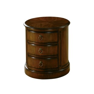 Tang Drum End Table