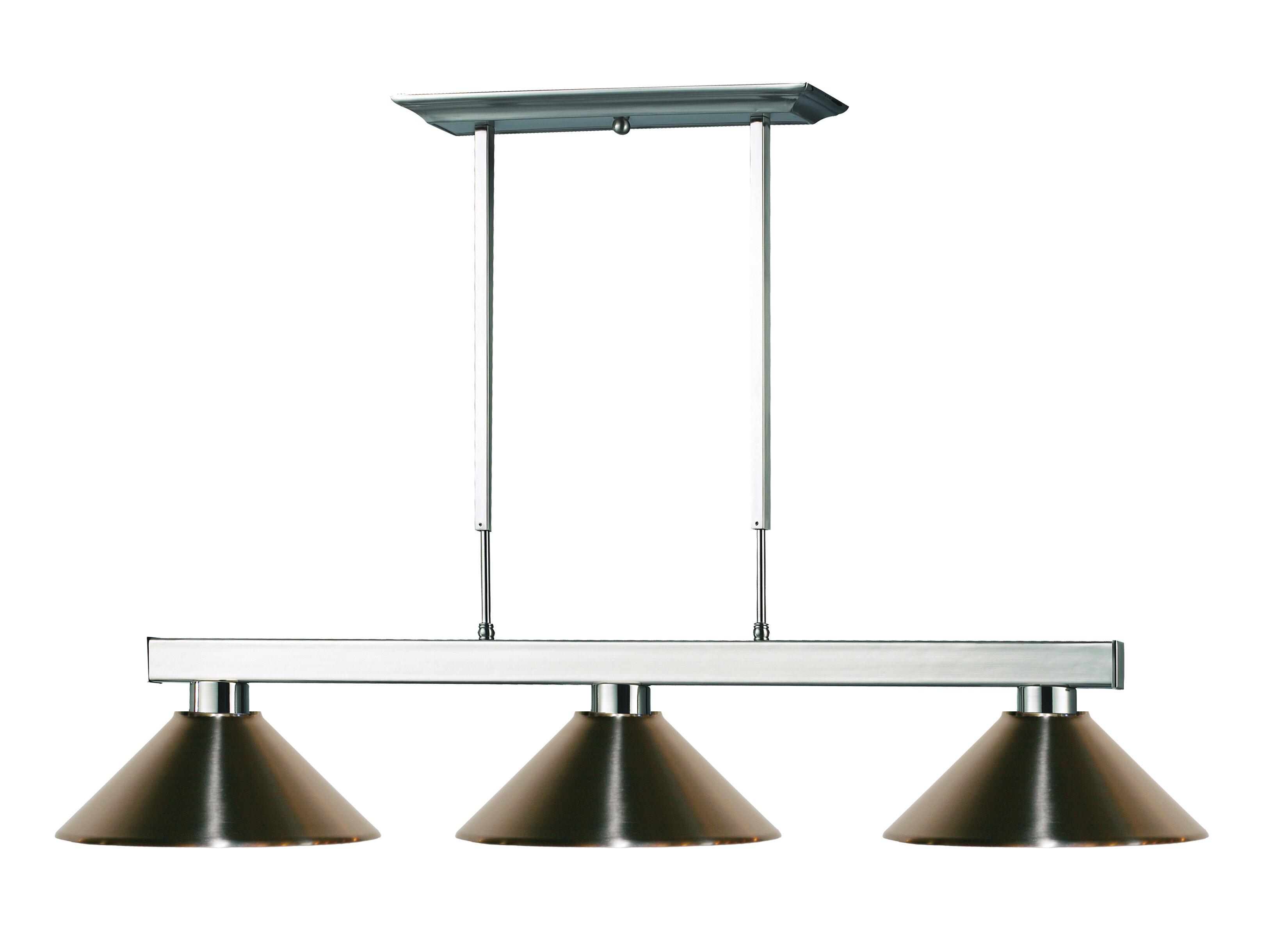 Viki 3 Light Steel Framed Pool Table