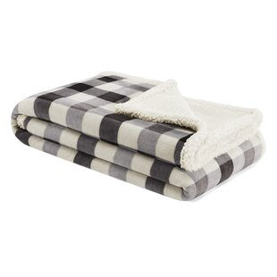 Gratton Plaid Ultra Soft Plush Sherpa Throw