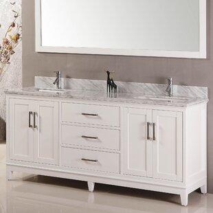 Signature Series 60 Double Bathroom Vanity Set By Belvedere Bath