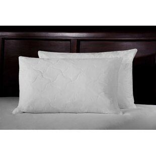 233 Thread Count Quilted Lumbar Feathers Standard Pillow By WellRest