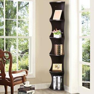Maiden Lane 5 Shelve Corner Bookcase by Ebern Designs