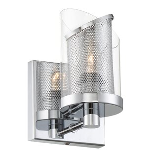 Vicenta 1-Light Bath Sconce by Orren Ellis