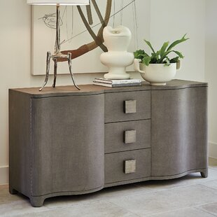 Toile Linen Credenza Sideboard by Studio A Home