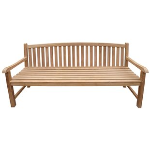 Cosgrove Oval Teak Garden Bench by Highland Dunes New Design