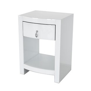 Kamena Curved Nightstand