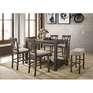 Vanderpool 7 Piece Counter Height Dining Set by Gracie Oaks