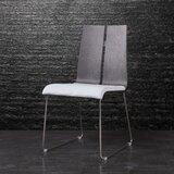 Alydar Upholstered Side Chair in Chrome (Set of 2) by Orren Ellis