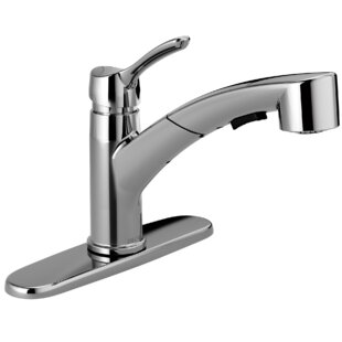 Delta Collins Single Handle Pull Out Kitchen Faucet with Diamond Seal Technology