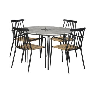 Hoch 4 Seater Dining Set By Sol 72 Outdoor