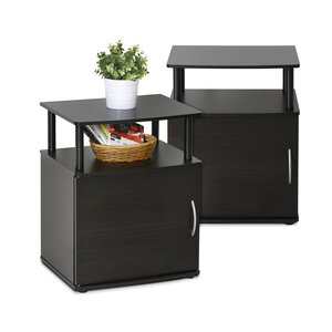 Amani End Table With Storage (Set of 2)