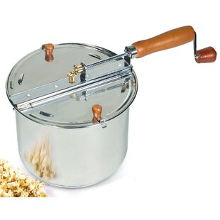 208 Oz. Cook N Home Stovetop Popcorn Popper