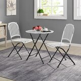 Fryar 3 Piece Bistro Set