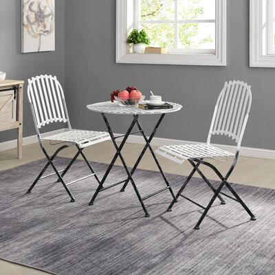 Fryar 3 Piece Bistro Set by Williston Forge Bargain