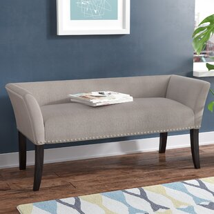 Riche Accent Upholstered Bench Wrought Studio