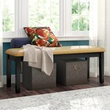 Alabama Upholstered Bench by August Grove®