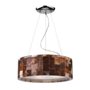 Christabelle 3-Light Drum Chandelier by 17 Stories