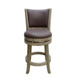 Stoudt Bar & Counter Swivel Stool by Darby Home Co