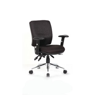 Mid-Back Executive Chair With Lumbar Support By Symple Stuff