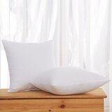 Roisin Soft Hypoallergenic Throw Pillow Insert (Set of 2)