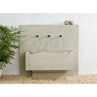 Campania International Concrete X 3 Fountain