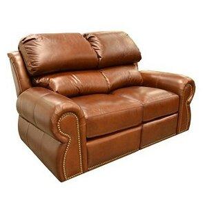 Cordova Leather Loveseat