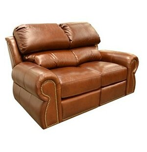 Cordova Leather Reclining Loveseat