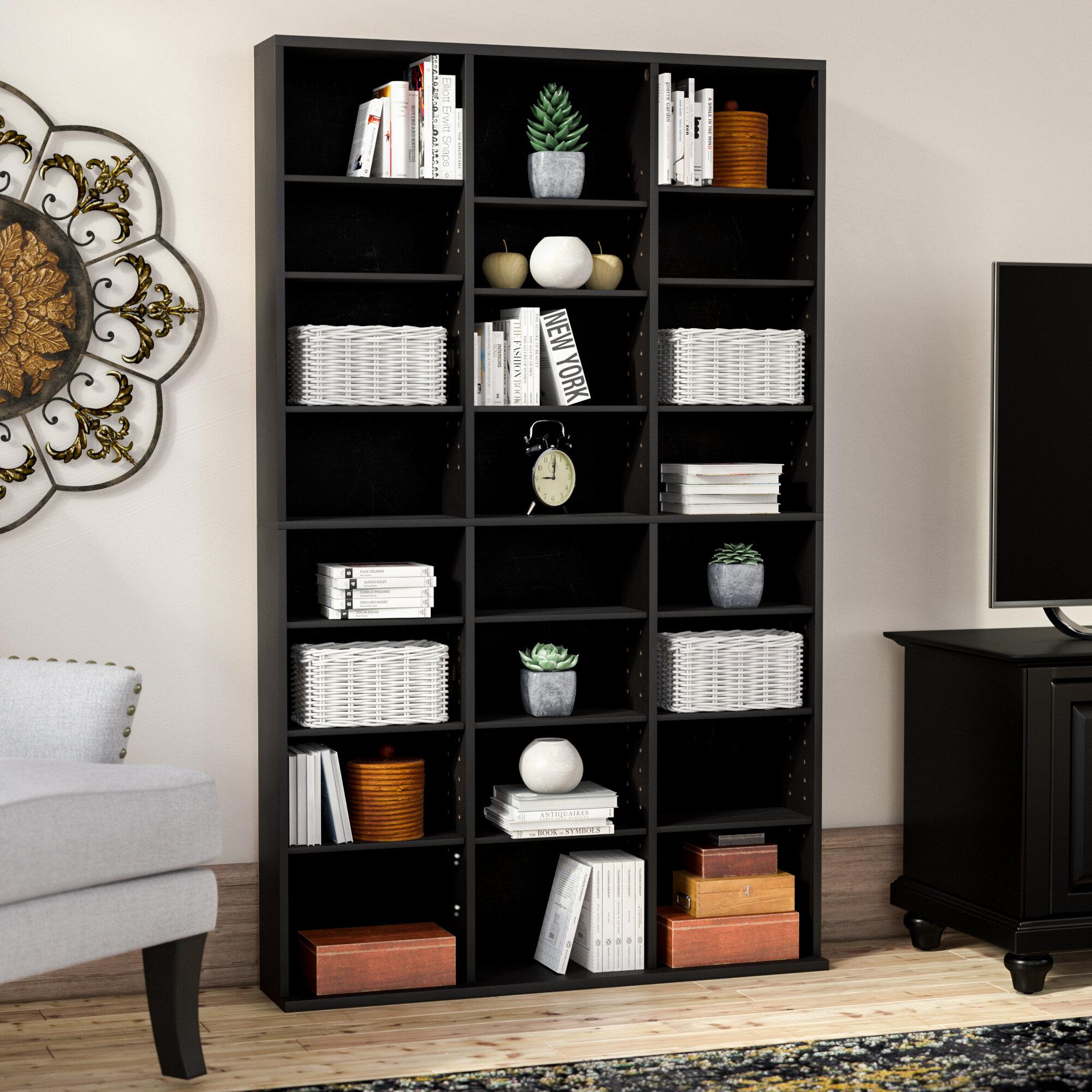 Mercury Row Multimedia Storage Rack U0026 Reviews   Wayfair