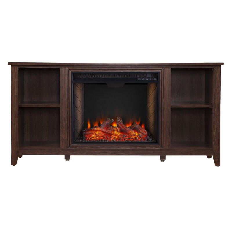 Ebern Designs Parkdale Alexa Enabled Fireplace