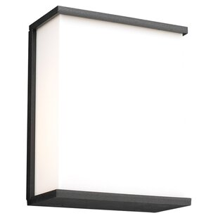 Savings Ullrich 1-Light Outdoor Flush Mount By Ebern Designs