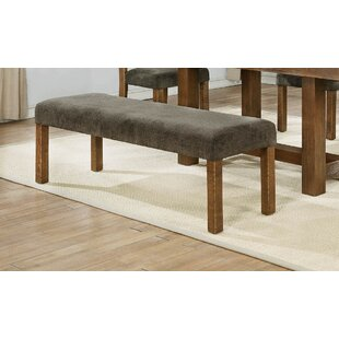 Dancourt Upholstered Bench by Loon Peak