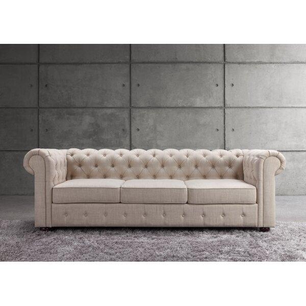 Mulhouse Furniture Garcia Chesterfield Sofa & Reviews