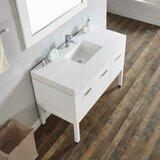 Alsacia 48 Single Bathroom Vanity Set by Wrought Studio™