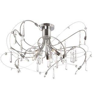 Firefly 5-Light Semi Flush Mount by Radionic Hi Tech