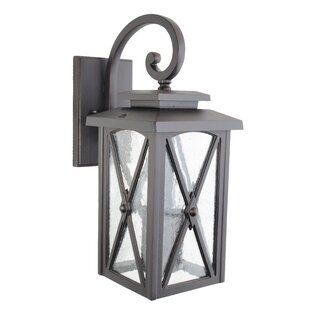 Searching for Jedidiah Outdoor Wall Lantern By Alcott Hill