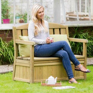 Review Caroline Wooden Bench