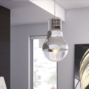 dCOR design Gilese 1-Light Bulb Pendant
