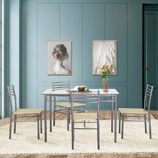 Tavarez 5 Piece Dining Set