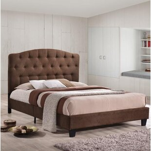 Snydertown Double Upholstered Platform Bed By ClassicLiving