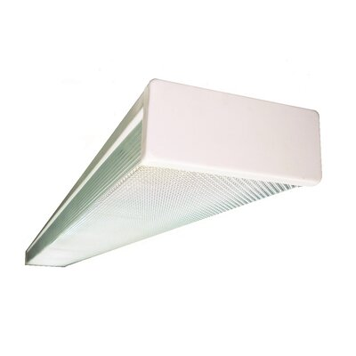 NICOR Lighting 2-Light Fluorescent Strip