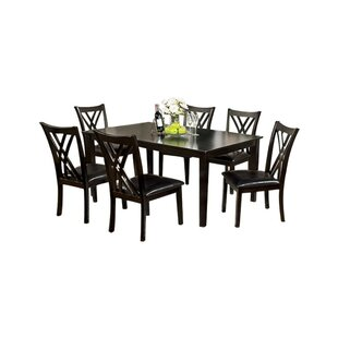Oesch 7 Piece Dining Set Red Barrel Studio