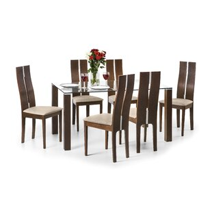 Colley Dining Set With 4 Chairs By ClassicLiving