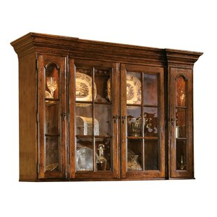 Burntwood Lighted China Cabinet by Canora Grey