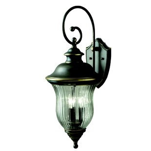 Astoria Grand Barrowbrook 3-Light Outdoor Wall Lantern