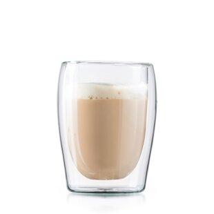 Ignazio 10 Oz. Double-Wall Espresso Cup (Set of 2)