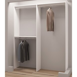 Deals Demure Design 63W Closet System By TidySquares Inc.
