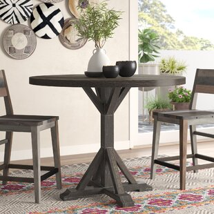 Silverheels Counter Height Dining Table by Bungalow Rose Cheap