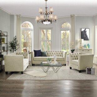 Bireuen 3 Piece Living Room Set by Red Barrel Studio