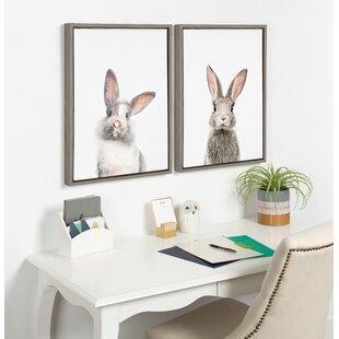 Bunny Rabbit Wall Art Wayfair