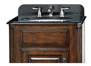 Custom Stone 25 Single Bathroom Vanity Top By Cole + Company